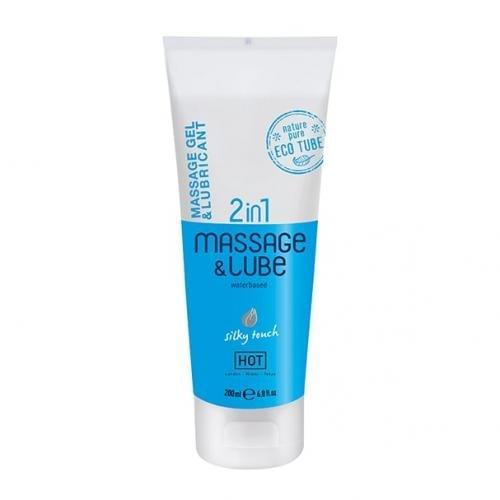 2 in 1 Heißes Massagegel und Gleitmittel - Silky Touch