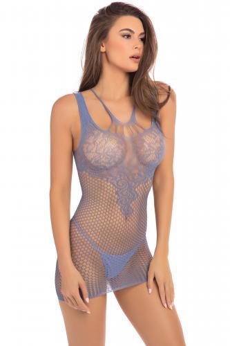 Absolutist Minikleid - Blau