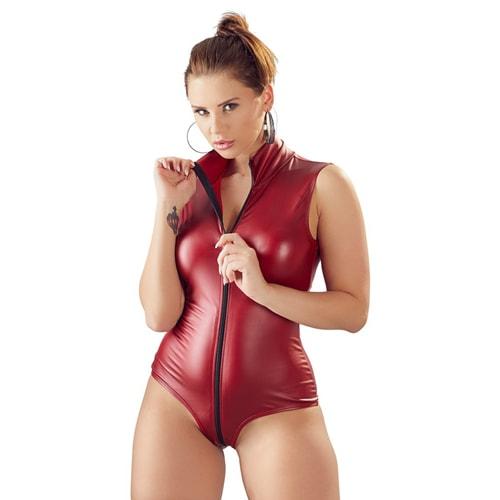 Body mit 2-Wege-Reißverschluss