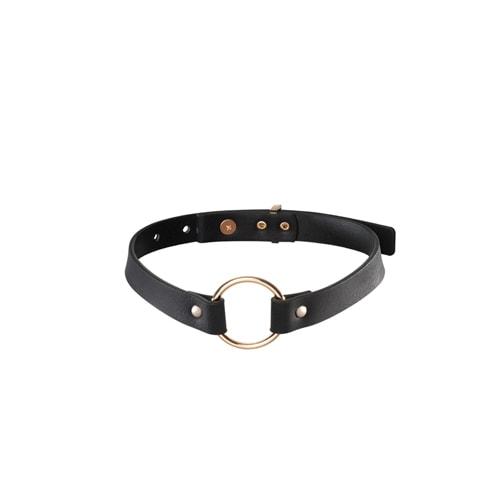 Einzelhalsband schwarz